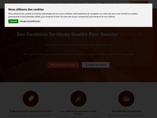 1Texte - La plateforme du rédacteur web