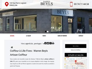 Warren Beyls, Votre artisan coiffeur à Lille (59)
