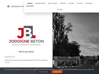 JODOIGNE BETON, votre fournisseur béton, près de Wavre
