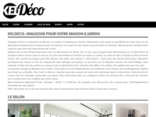 Kel Deco, votre magazine de décoration