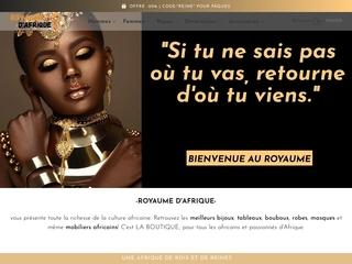 Royaume d'Afrique - Référence de Mode et Décoration Africaine