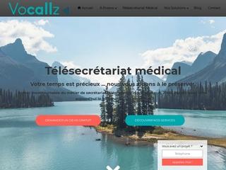 Le télésecrétariat médical de Vocallz