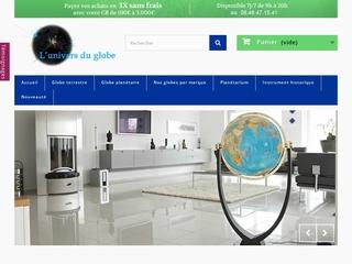 Globe terrestre et mappemonde