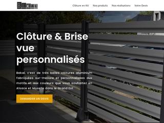 La clôture premium en aluminium en France