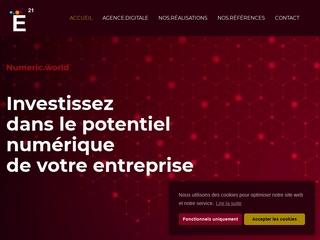 E21 Agence Digitale de création de sites Internet.