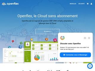 Openflex, logiciel ERP dans le Cloud, sans installation