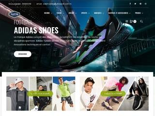 Vente vêtement de sport en ligne