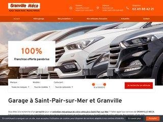 Granville Meca, garage automobile à Saint-Pair-sur-Mer