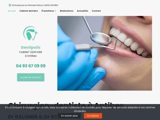 Cabinet offrant des soins dentaires