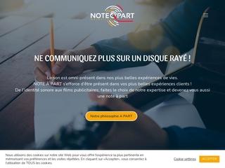 Note A Part - Agence de Publicité