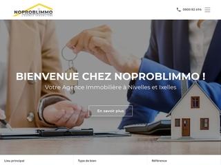 Noproblimmo : L'agence immobilière à votre écoute sur Nivelles.