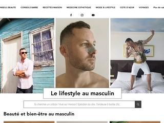 Blog beauté et bien-être pour homme