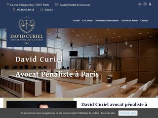 Avocat du tribunal correctionnel à Paris
