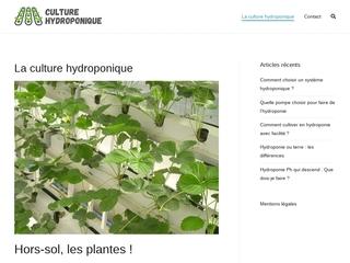 Maîtriser la culture hydroponique