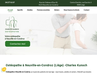 Ostéopathe pour adultes à Neuville-en-Condroz
