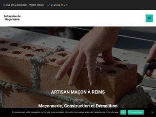 Entreprise de Maçonnerie à Reims