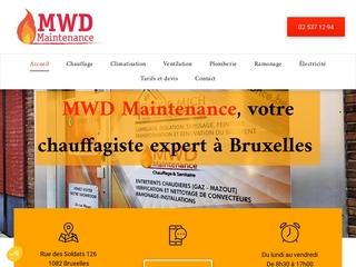 Entreprise de chauffage à Bruxelles, MWD Maintenance