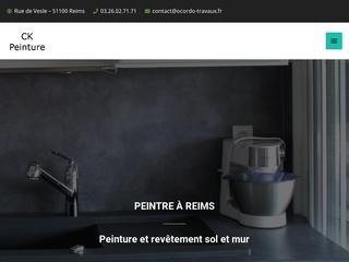 Peintre à Reims