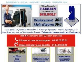Plombier chauffagiste sur Paris