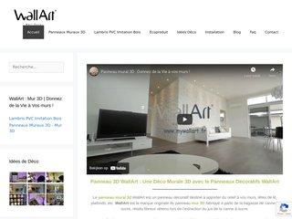 WallArt France, les pros du revêtement mural 3D