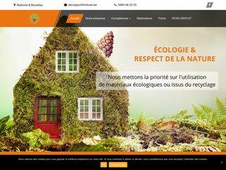 Spécialiste en toiture écologique en Wallonie et Bruxelles