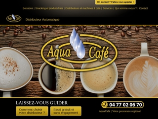 Aqua café : Distributeur automatique de café