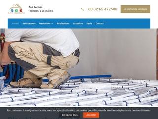 Bâtiment Secours, société de travaux de plomberie