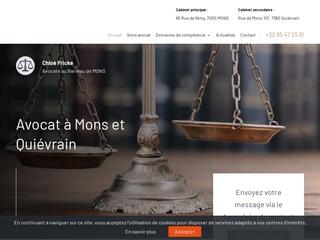 Maître Fricke, avocate en droit du roulage à Mons