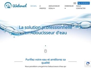 Watersol, votre solution en Adoucisseur d'eau