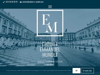 Cabinet Emmanuel Mundet-Avocat fiscaliste au barreau de Nice