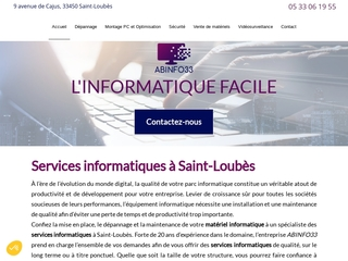 Sécurité informatique intervenant à Saint-Loubes