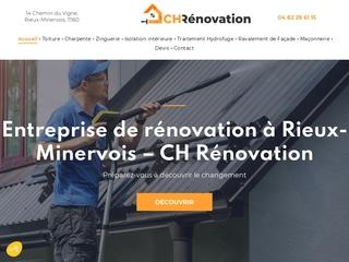 Travaux de rénovation à Rieux-Minervois