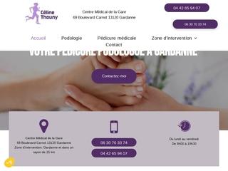 Céline Thouny : Pédicure à Mimet