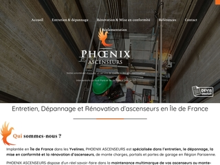 Phoenix ascenseur Entretien, dépannage et rénovation d'ascenseurs