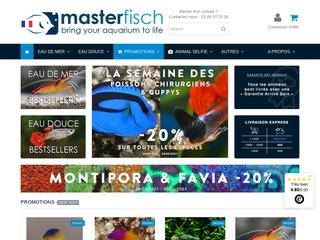 Masterfisch : Vente en ligne de poissons d'aquarium