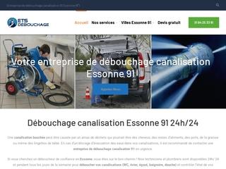 Débouchage canalisation Essonne 91 24h/24