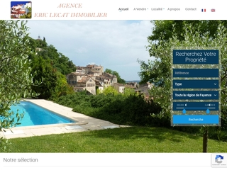 Eric Lecat Immobilier-agence immobilière-Fayence