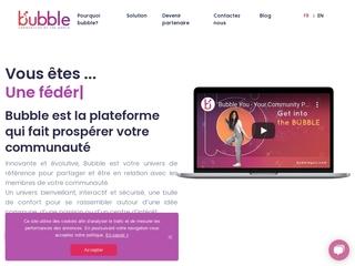 Bubble: pour une meilleure gestion de votre communauté