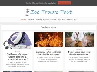 Zoe Trouve tout, votre blog