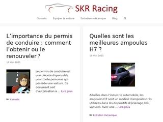 SKR, portail auto pour l'entretien de voiture