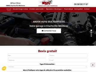 Garage automobile à Charleville-Mézières