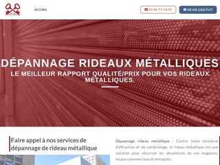Installation Rideau Metallique 91