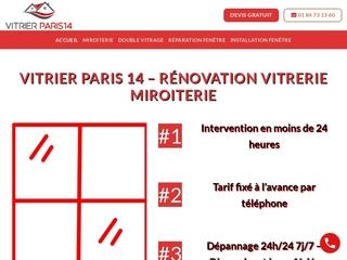 Réparation de toit et de puits de lumière avec Vitrier Paris 14