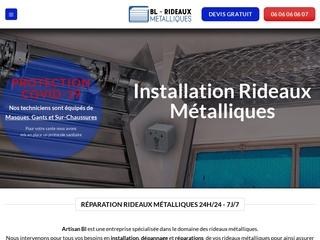 L' installation réparations  de vos rideaux métalliques
