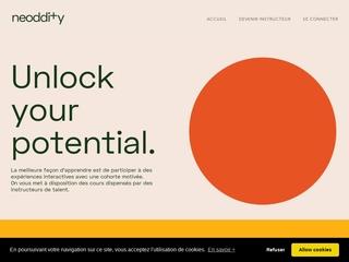 Neoddity - Marketplace de formation tech. et data.
