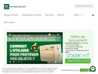 Produits Elastok pour la logistique, des solutions durables