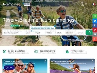 Campsited, réservation de campings en ligne