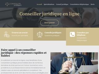 Conseiller juridique en droit immobilier