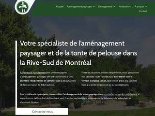 Compagnie d'aménagement paysager à Vaudreuil-Dorion et Rive-Sud