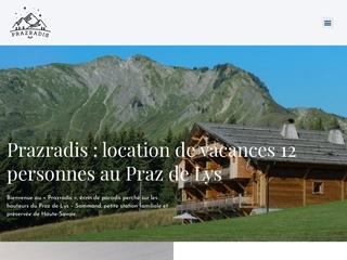 Prazradis, location vacances de prestige à Taninges (Haute-Savoie)